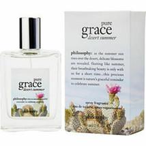 New Philosophy Pure Grace Desert Summer Edt Spray 2 Oz For Women - $58.33