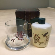 Avon Vintage 1981 Chesapeake Collection Glass and Wild  Country  After Shave NEW - $9.89