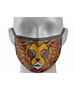 Face mask cover BIG CAT Leo GOLD Leopard lion tiger king fashion Unisex ... - $7.82