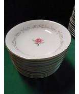 Beautiful  ROYAL SWIRL Fine China ...Set of 11 BERRY BOWLS - $27.43