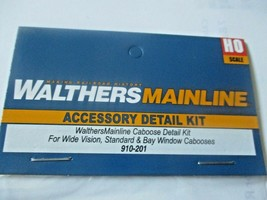 Walthers  Mainline # 901-201 Cabooses Detail Kit  for Walthers Cabooses HO-Scale image 2