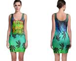 Rasta reggae bodycon dress thumb155 crop