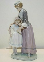 New LLADRO 5142 SOLACE Mother Woman Lady Comforting Daughter Girl Child ... - $148.49
