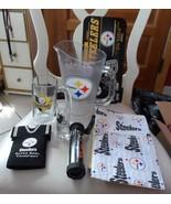 Pittsburgh Steelers gift lot - mug, placemat, coasters, shot glass, pitc... - $28.00