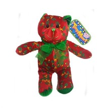 Sugar Loaf Toy Mart Holly Berry Teddy Bear 10 - $22.49