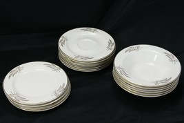 Lifetime Prairie Gold Bread Plates Fruit Dessert Bowls Saucers Lot of 17 - $51.89