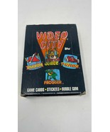Vintage 1983 Topps Video City Arcade Trading Cards  Stickers Full Wax Bo... - $293.51