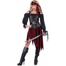Women's Queen Of The High Seas Sexy Pirate Swashbuckler Buccaneer Small - $49.58