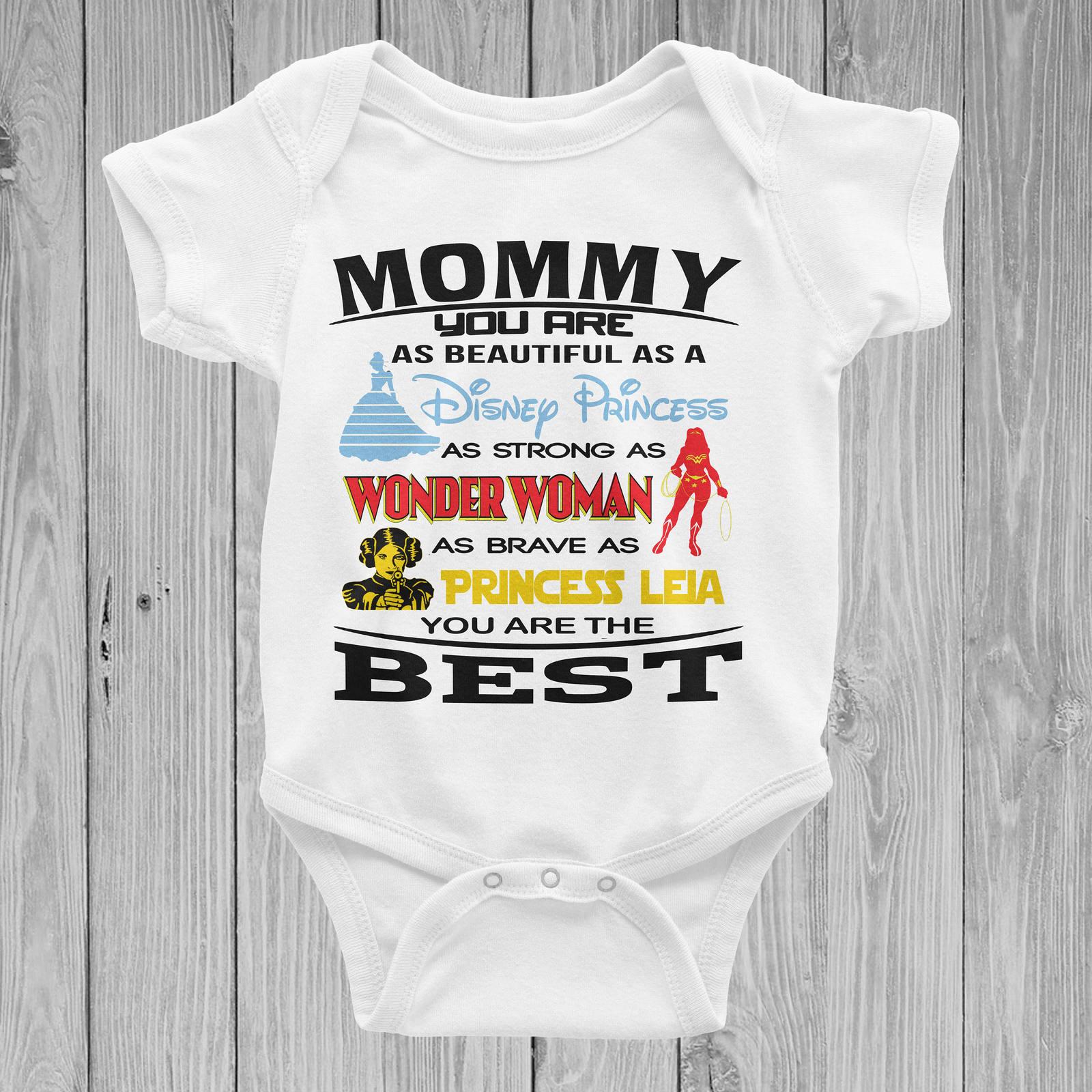 Best Disney Star Wars Super Hero Marvel DC Mom Mother Mommy Day for Boy or Girl