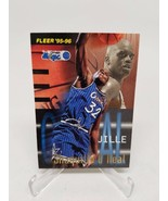 Shaquille Oneal 1995-96 Fleer Firm Foundation #338 Orlando Magic - $4.70