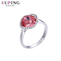 Xuping Jewelry Exquisite Ring Wild Style Crystals from Swarovski High Quality fo - $22.48