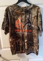 Realtree AP Men's Or Women Medium 100% Cotton No Pocket Camo T-shirts - $17.82