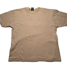 Vintage 90s Mens Horizontal Striped Short Sleeve T Shirt Size Large Stre... - £21.54 GBP