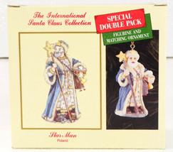 International Santa Claus Collection Star Man POLAND Figure & Ornament NIB - $19.99