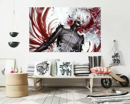 3D Tokyo Ghoul Bloody T757 Japan Anime Wall Stickers Vinyl Wall Murals Wall Su - $31.27+