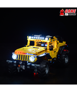 LED Light Kit for Jeep Wrangler - Compatible with Lego 42122 Set - $24.99+