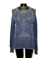Sanctuary Sweater All Day Pullover Long Sleeve Blue Marine Size XS S M X... - $54.99