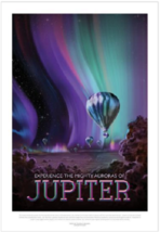 NASA Visions of the Future Jupiter Poster - $39.00