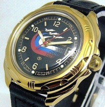 Russian Vostok Military Komandirskie Watch # 219... New - $55.98