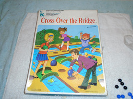Vintage 1970 Kohner CROSS OVER THE BRIDGE Game w/ 2 Pop-O-Matic Dice Sha... - $29.99