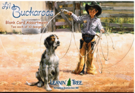 Leanin Tree Lil Buckaroos Blank Greeting Card Assortment - $24.99