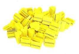 LOT OF 40 NEW GENERIC WPL7 YELLOW CONNECTORS E47048SP