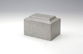 Angel Classic Gray Granite Infant/Pet/Child Funeral Cremation Urn,100 Cubic In. - $104.99