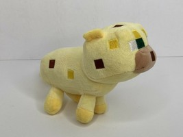 "2015 Minecraft Game Mojang Yellow Ocelot Cat Plush Stuffed Animal 10"" w/ Tail - $9.25"