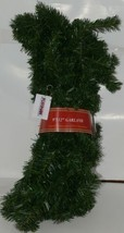 FORSHAW 84348 Norway Pine Garland Flame Retardant PVC Needles 9 ft by 12 in Wide image 1