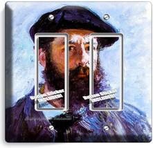 Claude Monet Self Portrait Painting 2 Gfi Switch Outlet Wallplate Room Art Decor - $11.69