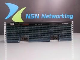 Cisco 3945 CISCO3945/K9 C3900-SPE150/K9 NM-1T3/E3 Dual Power Supply 341-0238-01 - $138.55