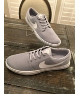 Nike Portmore Ultralight Wolf Grey White Fashion Sneaker Mens Size 11.5 ... - $79.20