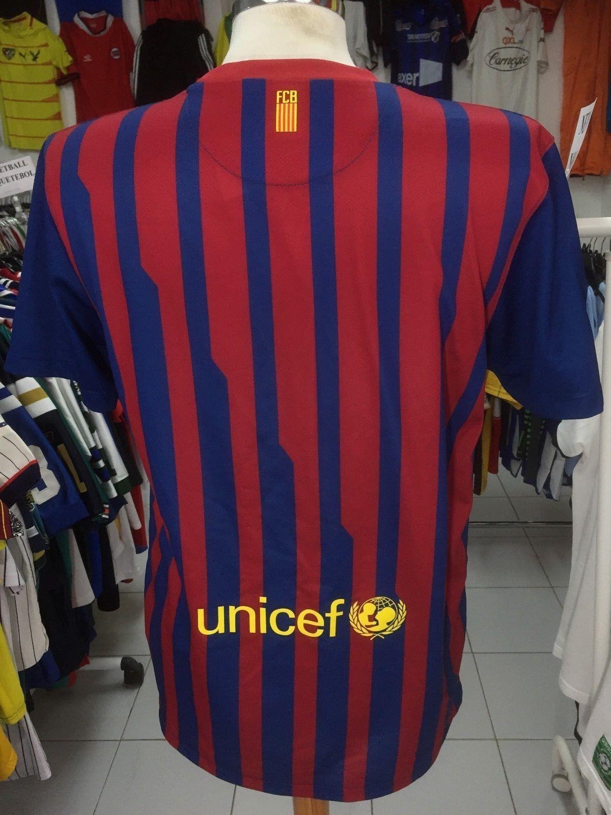 80c745988be ... Jersey FC Barcelona 2011 12 (M) Home FCB Catalunya Nike Shirt Camiseta  Maglia ...