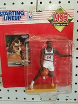 1995 ROOKIE STARTING LINEUP - SLU - NBA - ROBERT PACK - DENVER NUGGETS - £9.80 GBP