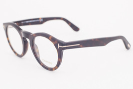 Tom Ford 5459 052 Dark Tortoise Round Eyeglasses TF5459 052 48mm - $175.42