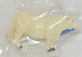 Tomy LP65097 John Deere Two Inch Charolais Cow Tan Collect N Play image 1