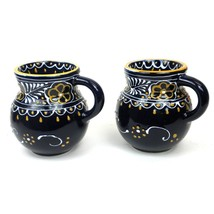 Fair Trade Hand Crafted/Painted Mugs Mexican Kitchenware Lead Free Dishe... - £17.99 GBP