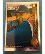 1998 Upper Deck 10th Anniversary Preview Baseball Card #17 Sandy Alomar Jr. - $1.00