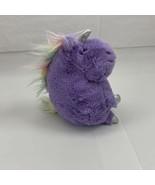 "Animal Adventure Lavendar Unicorn Pastel Mane Silver 10"" Plush Stuffed A... - $14.99"