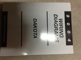 2004 DODGE DAKOTA TRUCK Electrical Wiring Diagrams Service Shop Repair Manual - $138.55