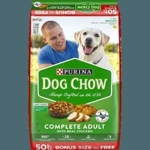 Purina Dog Chow Dry Dog Food, Complete  With Real Chicken - $20.74+