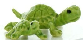 Hagen Renaker Miniature Turtle Mama and Baby Ceramic Figurine Set image 11