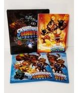 New Skylanders Giants Binder, 2 Giants Folders and Swap Force Notebook Set - $7.88