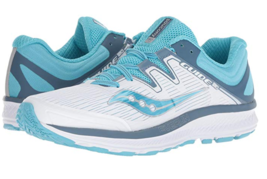 Saucony Guide ISO Size 9.5 M (B) EU 41 Women's Running Shoes White Blue S10415-4