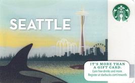 Starbucks 2015 Seattle, Washington aka Orca Collectible Gift Card New No... - $3.99