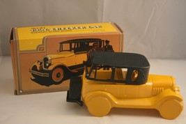 VINTAGE AVON 1926 CHECKER CAB DECANTER FULL of EVEREST WITH DECALS - $5.00