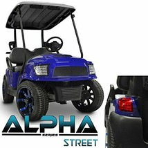 Golf Cart Body Kit Alpha Street Style Blue Club Car Precedent  2004-Up M... - $979.02