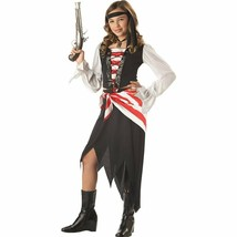 RUBY THE PIRATE BEAUTY BUCCANEER CHILD HALLOWEEN COSTUME GIRLS EXTRA LAR... - $22.33