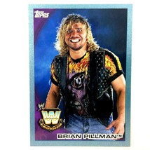 WWE Brian Pillman 2010 Topps Card #97 Blue Serial Numbered Parallel  - $2.92