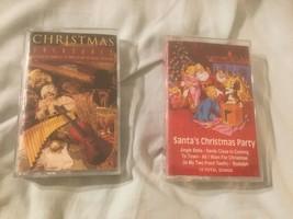 Lot 2 Christmas Casette Santas Christmas Party Treasures Children's Orec... - $4.84